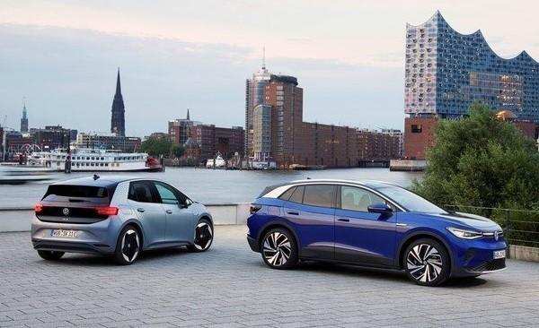 Autos eléctricos Volkswagen ID3 y ID4
